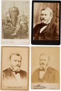 Photography:Cabinet Photos, Ulysses S. Grant: Four Cabinet Cards....