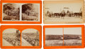 Photography:Stereo Cards, Group of Four Civil War Stereoviews... (Total: 4 )