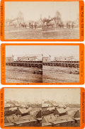 Photography:Stereo Cards, Civil War Stereoviews: Three War Views by Brady. ...
