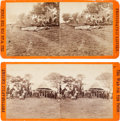 Photography:Stereo Cards, Civil War Stereoviews: Two Views of the War by Brady & Co.... (Total: 2 )