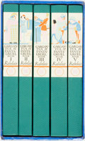 Books:Literature Pre-1900, [Limited Editions Club]. Jacques LeClercq, translator. W.A. Dwiggins, illustrator. SIGNED/LIMITED. Francois Rabelais. Ga... (Total: 5 Items)
