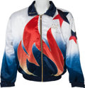 Olympic Collectibles:Autographs, 1996 Andre Agassi Team USA Match Worn Warmup Suit. ...