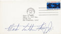 Autographs:Celebrities, Martin Luther King Jr. Signed Cover....