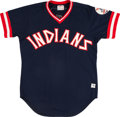 Baseball Collectibles:Uniforms, 1977 Alfredo Griffin Game Worn Cleveland Indians Jersey. ...