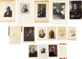 Autographs:Authors, [Nineteenth Century Authors]. Autograph Album...