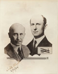 Autographs:Inventors, Orville and Wilbur Wright Photograph Signed by Orville....
