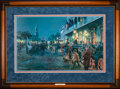 Art, Mort Künstler. Charleston - Autumn 1861 (1998). 29x18 inches. AP22of 100. Condition: Very good. Accompanied by certificate ...