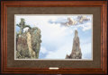 Art, Stephen Lyman. End of the Ridge (1982)27x15 inches. SN337 of 850.Condition: Very good. Accompanied by certificate of authen...