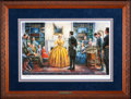 Art, Mort Künstler. Blessing of the Sword (2002). 23x14 inches. AP22 of95. Condition: Very good. Accompanied by certificate of a...