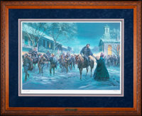 Mort Künstler A Fleeting Moment (2003) 26x18 inches AP22 of 100 Condition: Very Good Accompanied by ce