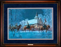Mort Künstler Southern Stars (1994) 28x19 inches AP3 of 100 Condition: Very good Accompanied by certif