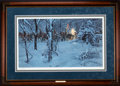 Art, Mort Künstler. Confederate Christmas (1992). 25 x 18 Inches. SN 998of 1250. Condition: Very good. Accompanied by certificat...