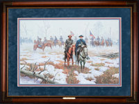 """Mort Künstler """" . . . War Is So Terrible"""" (1995) 28 x 18 Inches AP22 of 75 Condition: Very good Accomp"""