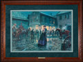 Art, Mort Künstler. The Palace Bar (1997). 28 x 19 Inches. AP22 of 250.Condition: Very good. Accompanied by certificate of authe...