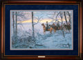 Art, Mort Künstler. While the Enemy Rests (1997). 17 x 26 Inches. AP22of 150. Condition: Very good. Accompanied by certificate o...