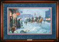 Art, Mort Künstler. Winter Riders (1995). 28 x 17 Inches. AP5 ofun-known no. of APs. Accompanied by certificate of authenticity...