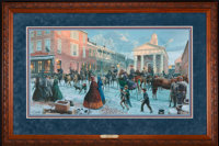 Mort Künstler After the Snow (1998) 30 x 16 Inches AP22 of 100 Condition: Very good Accompanied by cer