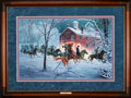 Art, Mort Künstler. The Fairfax Raid (1996). 27 x 18 Inches. AP22 of100. Condition: Very good. Accompanied by certificate of authent...