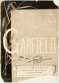 Books:Americana & American History, [James Garfield, subject]. The Poets' Tributes to Garfield.Cambridge: Moses King, 1881. First edition. Original wra...
