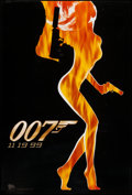 """Movie Posters:James Bond, The World is Not Enough (MGM, 1999). One Sheet (27"""" X 40"""") SS Advance. James Bond.. ..."""