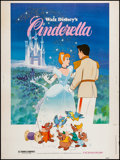 "Movie Posters:Animation, Cinderella (Buena Vista, R-1981). Poster (30"" X 40""). Animation....."