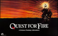 "Movie Posters:Adventure, Quest for Fire & Other Lot (20th Century Fox, 1982). HorizontalPoster (25"" X 40"") & One Sheet (27"" X 41""). Adventure.. ...(Total: 2 Items)"