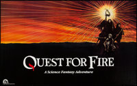 """Quest for Fire & Other Lot (20th Century Fox, 1982). Horizontal Poster (25"""" X 40"""") & One Sheet (27&quo..."""
