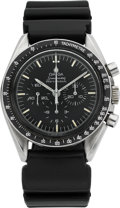 Timepieces:Wristwatch, Omega 145022-69 ST Speedmaster Professional Pre-Moon Chronograph, circa 1969. ...