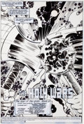 Original Comic Art:Splash Pages, George Perez and Russell Braun War of the Gods #2 SplashPage #1 Original Art (DC, 1991)....