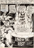 Original Comic Art:Splash Pages, George Tuska and Vince Colletta Worlds Unknown #8 SplashPage #1 Original Art (Marvel, 1974)....