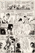 Original Comic Art:Panel Pages, Dick Dillin and Joe Giella Justice League of America #96 Page 23 Original Art (DC, 1972)....