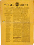 Miscellaneous, [Union Occupation]. Newspaper: The New South....