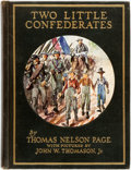 Books:Children's Books, [Featured Lot] [Inscribed by Margaret Mitchell]. Thomas NelsonPage. Two Little Confederates. New York: Scribner's, ...