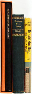 Books:Books about Books, [Featured Lot] [Books about Books]. Group of Three Books about Books. Various publishers and dates. Some shelfwear. Very goo... (Total: 3 Items)
