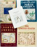 Books:Reference & Bibliography, [Maps, subject]. Group of Five Books about Maps, Particularly NorthAmerican Maps. Various publishers and dates. Quartos and... (Total:5 Items)