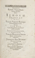 Books:World History, Theodor Zwinger. Theatrum humanae vitae... Basel: SebastianHenricpetri, 1604. Later edition. Twenty-nine parts in f... (Total:5 Items)