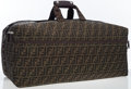 Luxury Accessories:Travel/Trunks, Fendi Classic Zucca Monogram Canvas Travel Bag. ...