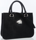 Luxury Accessories:Bags, Kieselstein Cord Black Ponyhair Tote Bag with Silver Hardware. ...
