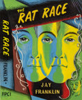 Pulp, Pulp-like, Digests, and Paperback Art, JACK GAUGHAN (American, 1930-1985). Rat Race, alternative bookcover, 1950. Oil on board. 8.5 x 7 in. (sight). Signed al...