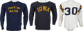 Football Collectibles:Uniforms, 1950's and 60's Paul Krause Game Worn High School Football Jersey and More....