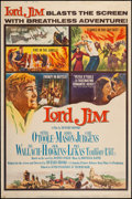 "Movie Posters:Adventure, Lord Jim (Columbia, 1965). Poster (40"" X 60"") Style B. Adventure....."