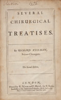 Books:Medicine, Richard Wiseman. Several Chirurgical Treatises. London: R.Norton & J. Macock, 1686. Second edition. Folio. ...
