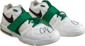 Basketball Collectibles:Others, Circa 2005 Paul Pierce Game Worn, Signed Boston CelticsSneakers....