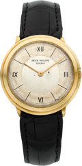 Timepieces:Wristwatch, Patek Philippe Ref. 2501 Fine 18k Yellow Gold Gent's Wristwatch, circa 1953. ...