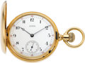 Timepieces:Pocket (pre 1900) , Waltham Heavy 18k Gold Model 72 Amn. Grade, circa 1880. ...
