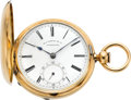 Timepieces:Pocket (pre 1900) , M.I. Tobias & Co. Liverpool Massive 18k Gold Lever Fusee, circa1860's. ...