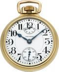 Timepieces:Pocket (post 1900), Waltham 23 Jewel Vanguard 16 Size Wind Indicator, circa 1919. ...