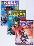 Magazines:Adventure, Savage Sword of Conan and Others Group (Marvel, 1975-82) Condition: Average NM-.... (Total: 14 Comic Books)