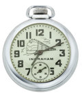Timepieces:Pocket (post 1900), Ingraham Locomotive Pocket Watch. ...