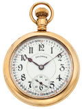 Timepieces:Pocket (post 1900), Illinois 17 Jewel Open Face Pocket Watch. ...